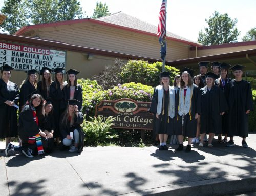 Parade of Honor: West Salem Seniors Visit Brush College Elementary